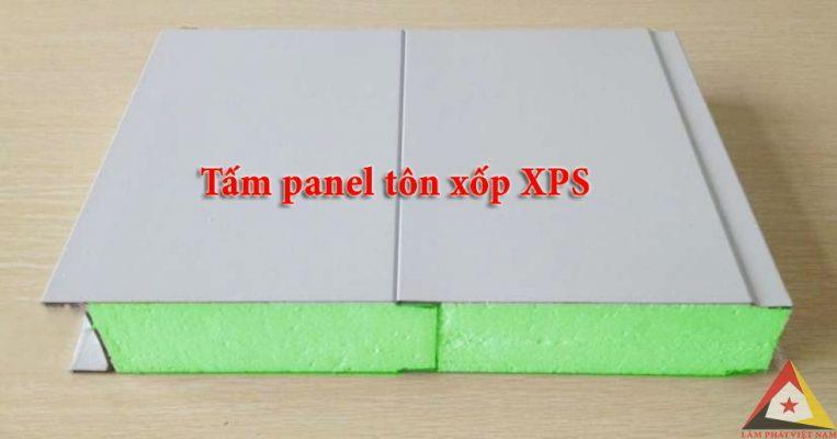 tấm panel tôn xốp xps chống nóng