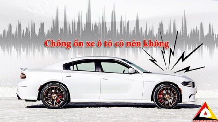 chống ồn xe ô tô